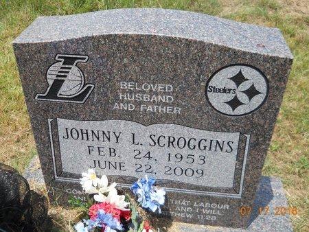 SCROGGINS, JOHNNY L - Hempstead County, Arkansas   JOHNNY L SCROGGINS - Arkansas Gravestone Photos