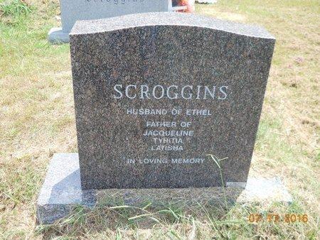 SCROGGINS, JOHNNY L (BACK VIEW) - Hempstead County, Arkansas | JOHNNY L (BACK VIEW) SCROGGINS - Arkansas Gravestone Photos