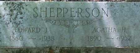 SHEPPERSON, AGATHA H - Hempstead County, Arkansas | AGATHA H SHEPPERSON - Arkansas Gravestone Photos
