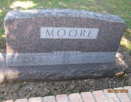 MOORE, EVA GERTRUDE - Hempstead County, Arkansas | EVA GERTRUDE MOORE - Arkansas Gravestone Photos