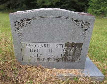 STEWART, LEONARD - Hempstead County, Arkansas   LEONARD STEWART - Arkansas Gravestone Photos