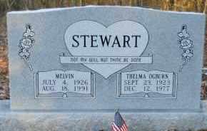 OGBURN STEWART, THELMA - Hempstead County, Arkansas | THELMA OGBURN STEWART - Arkansas Gravestone Photos
