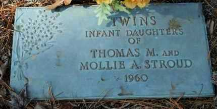 STROUD, INFANT DAUGHTERS - Hempstead County, Arkansas | INFANT DAUGHTERS STROUD - Arkansas Gravestone Photos