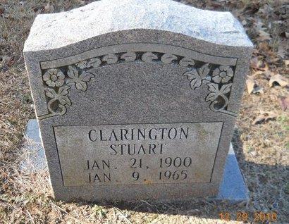 STUART, CLARINGTON - Hempstead County, Arkansas | CLARINGTON STUART - Arkansas Gravestone Photos