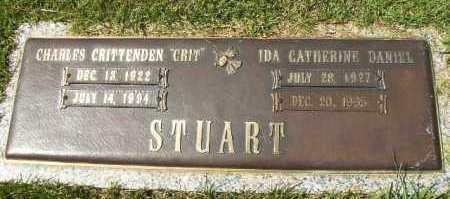 "STUART, CHARLES CRITTENDEN ""CRIT"" - Hempstead County, Arkansas   CHARLES CRITTENDEN ""CRIT"" STUART - Arkansas Gravestone Photos"