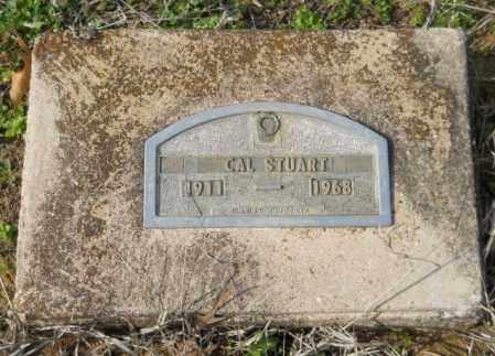 STUART, CAL - Hempstead County, Arkansas | CAL STUART - Arkansas Gravestone Photos