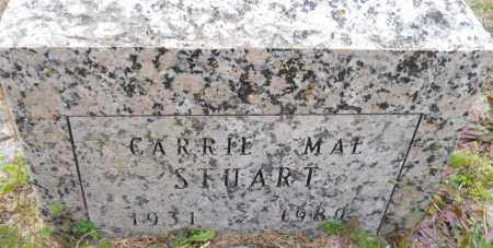 STUART, CARRIE MAE - Hempstead County, Arkansas | CARRIE MAE STUART - Arkansas Gravestone Photos