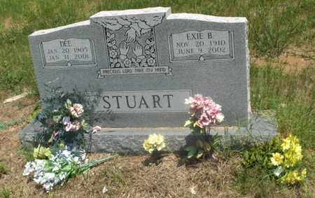 STUART, EXIE B - Hempstead County, Arkansas | EXIE B STUART - Arkansas Gravestone Photos