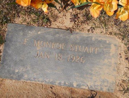 STUART, E. MONROE - Hempstead County, Arkansas | E. MONROE STUART - Arkansas Gravestone Photos