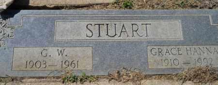 STUART, GRACE HANNA - Hempstead County, Arkansas | GRACE HANNA STUART - Arkansas Gravestone Photos