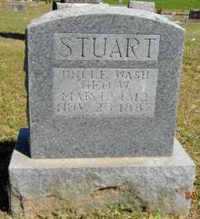 STUART, GEORGE W. - Hempstead County, Arkansas | GEORGE W. STUART - Arkansas Gravestone Photos