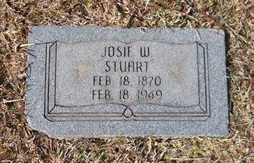 STUART, JOSIE W - Hempstead County, Arkansas | JOSIE W STUART - Arkansas Gravestone Photos