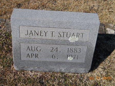 STUART, JANEY T - Hempstead County, Arkansas | JANEY T STUART - Arkansas Gravestone Photos