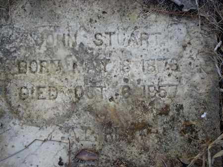 STUART, JOHN (CLOSEUP) - Hempstead County, Arkansas   JOHN (CLOSEUP) STUART - Arkansas Gravestone Photos