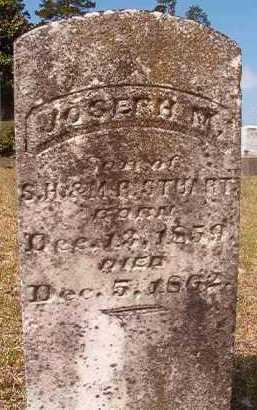 STUART, JOSEPH M - Hempstead County, Arkansas   JOSEPH M STUART - Arkansas Gravestone Photos