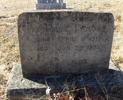 STUART, KATHERINE - Hempstead County, Arkansas | KATHERINE STUART - Arkansas Gravestone Photos