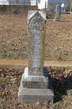 STUART, LEON - Hempstead County, Arkansas   LEON STUART - Arkansas Gravestone Photos