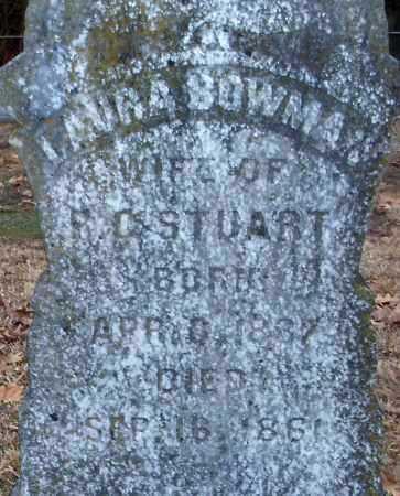 STUART, LAURA  (CLOSEUP) - Hempstead County, Arkansas   LAURA  (CLOSEUP) STUART - Arkansas Gravestone Photos