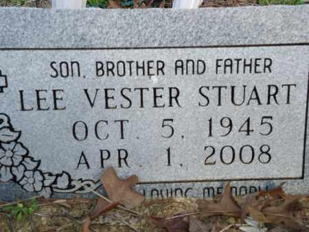 STUART, LEE VESTER (CLOSEUP) - Hempstead County, Arkansas | LEE VESTER (CLOSEUP) STUART - Arkansas Gravestone Photos