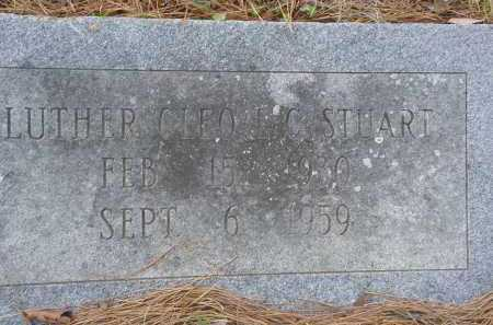 STUART, LUTHER CLEO (L.C.) - Hempstead County, Arkansas | LUTHER CLEO (L.C.) STUART - Arkansas Gravestone Photos