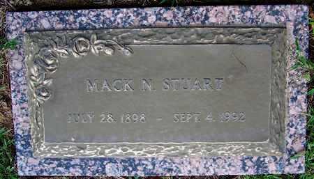 STUART, MACK N - Hempstead County, Arkansas | MACK N STUART - Arkansas Gravestone Photos
