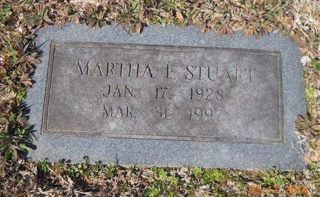 STUART, MARTHA - Hempstead County, Arkansas | MARTHA STUART - Arkansas Gravestone Photos
