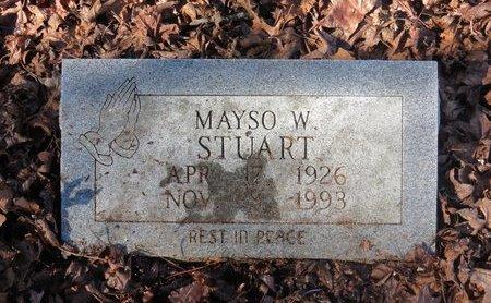 STUART, MAYSO W. - Hempstead County, Arkansas | MAYSO W. STUART - Arkansas Gravestone Photos