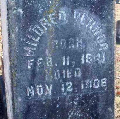 STUART, MILDRED VERNOR (CLOSEUP) - Hempstead County, Arkansas | MILDRED VERNOR (CLOSEUP) STUART - Arkansas Gravestone Photos