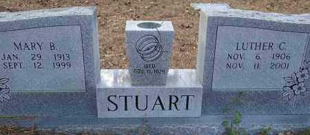 STUART, LUTHER C - Hempstead County, Arkansas   LUTHER C STUART - Arkansas Gravestone Photos