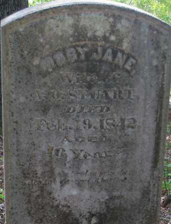 STUART, MARY JANE - Hempstead County, Arkansas   MARY JANE STUART - Arkansas Gravestone Photos