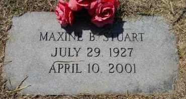STUART, MAXINE B - Hempstead County, Arkansas | MAXINE B STUART - Arkansas Gravestone Photos