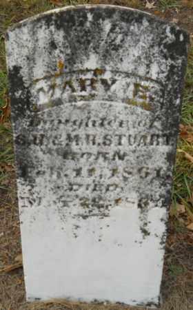 STUART, MARY E - Hempstead County, Arkansas | MARY E STUART - Arkansas Gravestone Photos