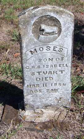 STUART, MOSES - Hempstead County, Arkansas   MOSES STUART - Arkansas Gravestone Photos