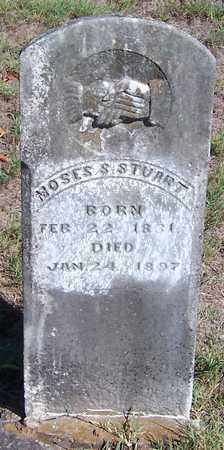 STUART, MOSES S - Hempstead County, Arkansas | MOSES S STUART - Arkansas Gravestone Photos