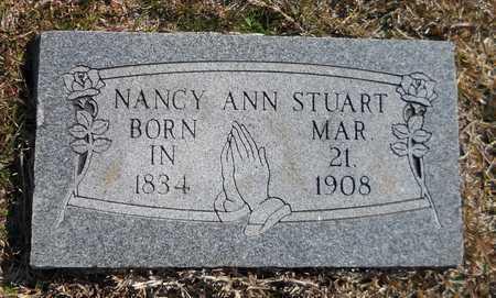 STUART, NANCY ANN - Hempstead County, Arkansas   NANCY ANN STUART - Arkansas Gravestone Photos