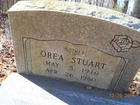 STUART, OREA (CLOSE UP) - Hempstead County, Arkansas | OREA (CLOSE UP) STUART - Arkansas Gravestone Photos