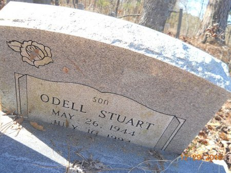 STUART, ODELL (CLOSE UP) - Hempstead County, Arkansas   ODELL (CLOSE UP) STUART - Arkansas Gravestone Photos