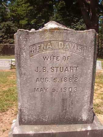STUART, RENA - Hempstead County, Arkansas | RENA STUART - Arkansas Gravestone Photos