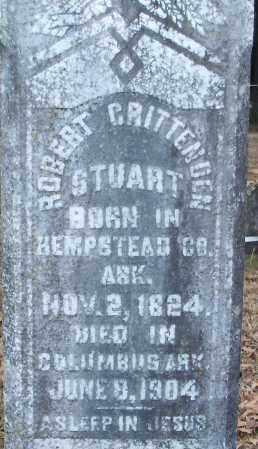STUART, ROBERT CRITTENDEN (CLOSEUP) - Hempstead County, Arkansas   ROBERT CRITTENDEN (CLOSEUP) STUART - Arkansas Gravestone Photos