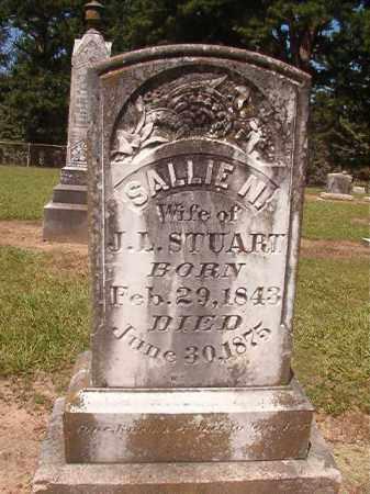 STUART, SALLIE N - Hempstead County, Arkansas   SALLIE N STUART - Arkansas Gravestone Photos
