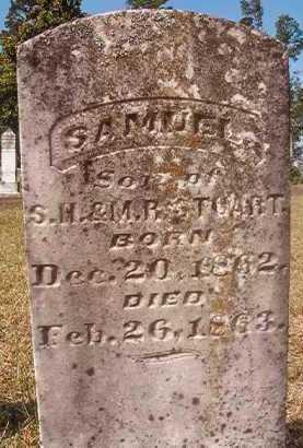 STUART, SAMUEL - Hempstead County, Arkansas   SAMUEL STUART - Arkansas Gravestone Photos