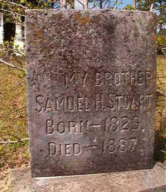 STUART, SAMUEL H - Hempstead County, Arkansas   SAMUEL H STUART - Arkansas Gravestone Photos