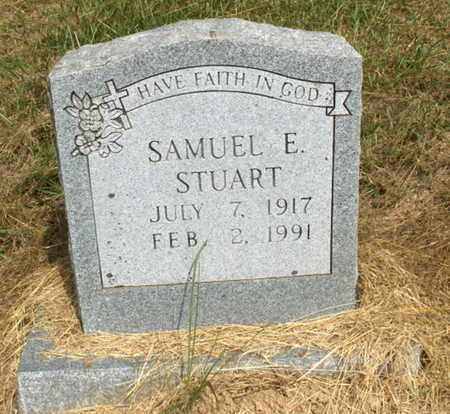 STUART, SAMUEL E - Hempstead County, Arkansas   SAMUEL E STUART - Arkansas Gravestone Photos