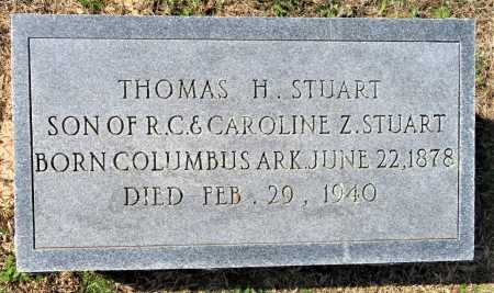 STUART, THOMAS H. - Hempstead County, Arkansas   THOMAS H. STUART - Arkansas Gravestone Photos
