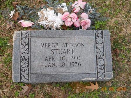 STUART, VERGE STINSON - Hempstead County, Arkansas   VERGE STINSON STUART - Arkansas Gravestone Photos