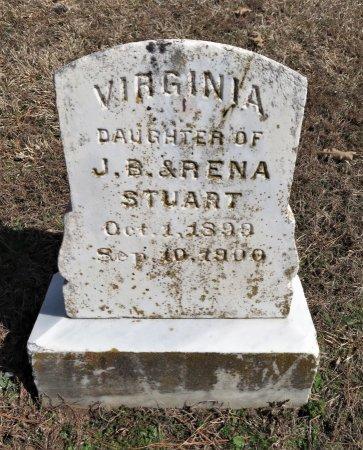 STUART, VIRGINIA - Hempstead County, Arkansas   VIRGINIA STUART - Arkansas Gravestone Photos