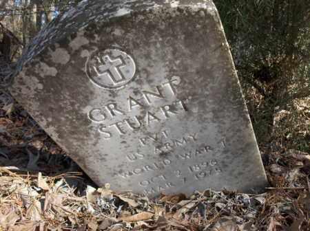 STUART (VETERAN WWI), GRANT - Hempstead County, Arkansas | GRANT STUART (VETERAN WWI) - Arkansas Gravestone Photos