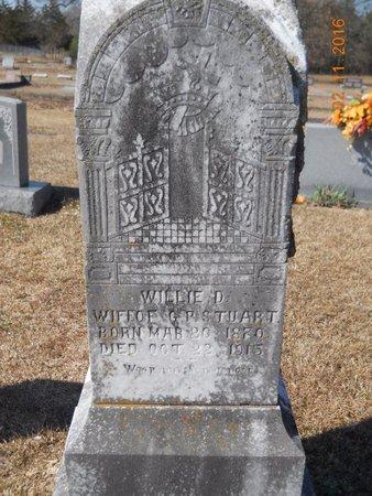 STUART, WILLIE D - Hempstead County, Arkansas | WILLIE D STUART - Arkansas Gravestone Photos