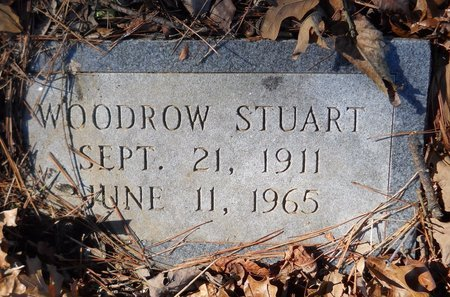 STUART, WOODROW - Hempstead County, Arkansas | WOODROW STUART - Arkansas Gravestone Photos