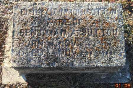 SUTTON, EMILY - Hempstead County, Arkansas   EMILY SUTTON - Arkansas Gravestone Photos
